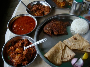 Delicious khanaval food