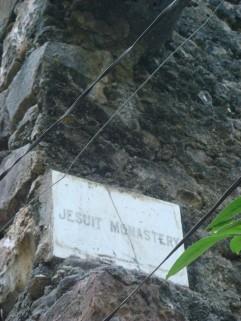 Revdanda Jesuit Monastry ruins are on the main road through Alibaug