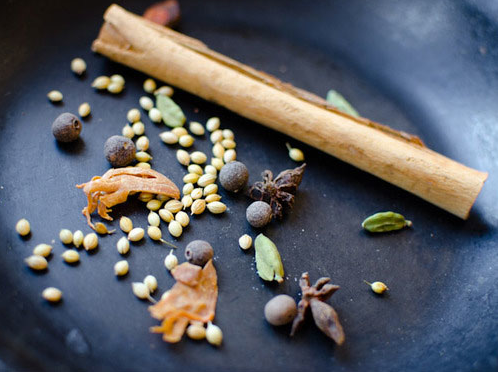 Fragrant dry spices