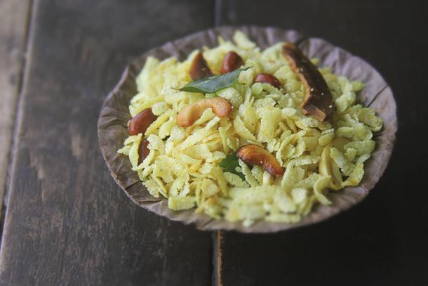 Delicious Diwali Poha Chivda