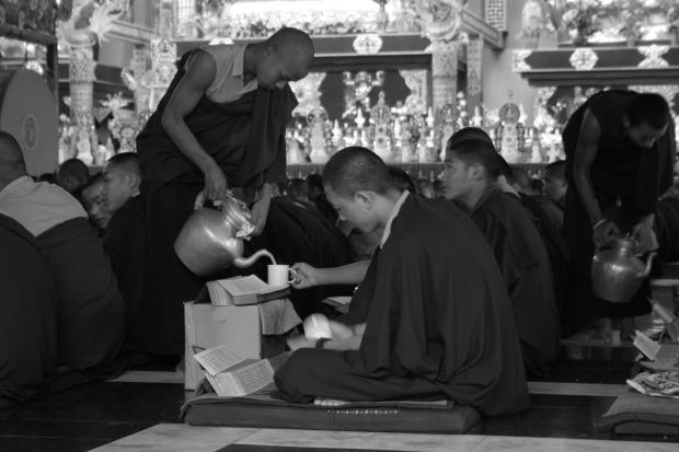 Prayers and rituals underway